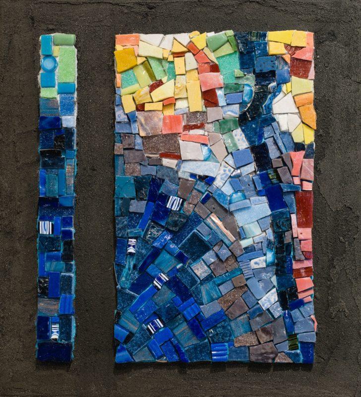 Mosaique - bleu de toi