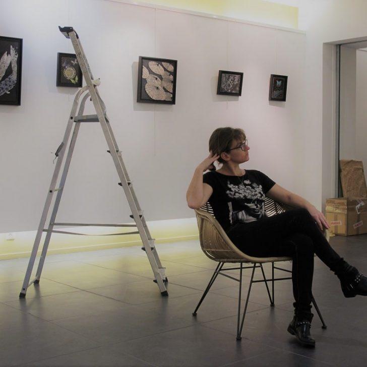 Installation de l'exposition