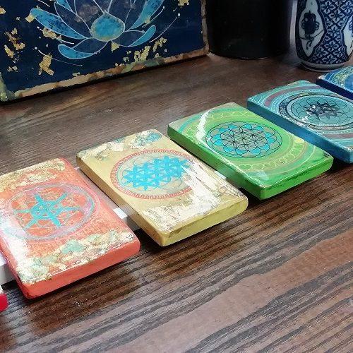 Fleur de vie & couleurs des chakras