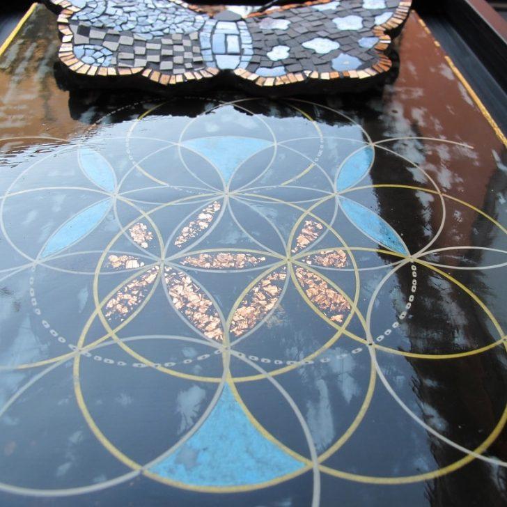 Géométrie sacrée & laque